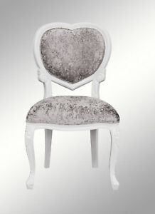 Incredible Details About French Louis Medee Chair White Bedroom Dressing Table Crushed Silver Velvet Ncnpc Chair Design For Home Ncnpcorg