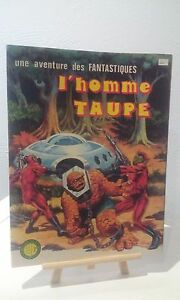 Aventure-des-Fantastiques-N-12-034-L-039-homme-Taupe-034-Edition-LUG