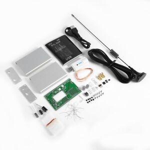 Details about 100KHz-1 7GHz UV HF RTL-SDR USB Tuner Receiver + U/V antenna  DIY KITS +manual