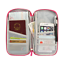 thumbnail 5 - Airplane Travel Bag Organizer Wallet Purse Passport ID Money Credit Card Holder