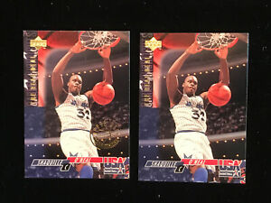 Shaquille-O-neal-94-Upper-Deck-Usa-52-Base-And-Gold-Metal