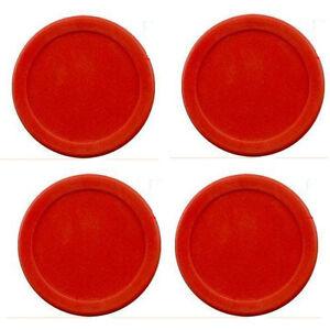 "lot  of 4 pcs 63mm 14g RED Air Hockey table 4 Pucks 2.5"" USA Seller"