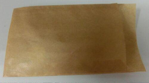 1st. 0,063 € N piatto bustina carta cartocci Braun 11,5x16cm, 3070-500st