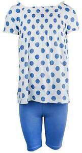 Girls-Baby-Toddler-Ruche-Gypsy-Polka-Spot-Top-amp-Leggings-Set-9-Months-to-4-Years