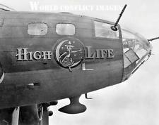 USAAF WW2 B-17 Bomber High Life 8x10 Nose Art Photo 100th BG WWII