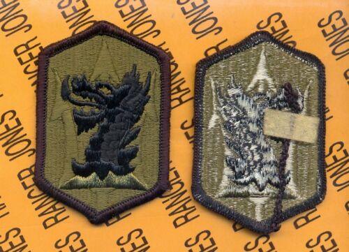 US Army 631st FA Field Artillery Brigade OD Green /& Black uniform patch