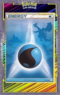 HS:HeartGold SoulSilver Energie Eau Carte Pokemon Neuve Française 117//123