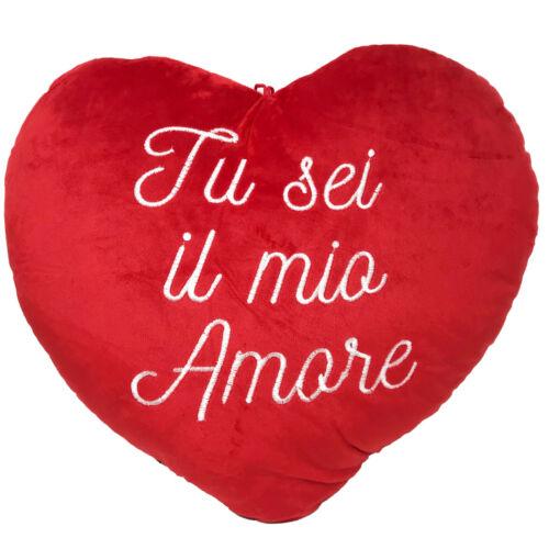Plush Heart Pillow Love Heart Valentine/'s Day Valentine/'s gift Size M