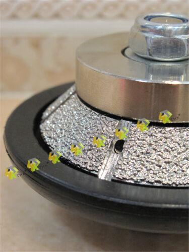 """3//8/"""" Pouces 10 mm 45 ° conique Routeur Bit THK Diamond vide Brasé profil roue"""