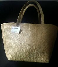 Ikea Straw Summer Basket Bag NIPPRIG 2015 - HOLIDAY BAG, WEEKEND BAG, BEACH
