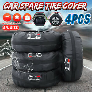4x-Universal-Car-Spare-Tire-Wheel-Protection-Cover-Storage-Bag-Carry-Tote-S-L