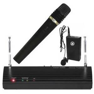 Topp-Pro-Radiomicrofono-Kit-Gelato-Archetto-e-Lavalier-per-Karaoke-e-Fitness
