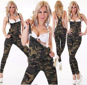 Pantalon Denim Camouflage Combinaison Hot Jeans Xs Wow Salopette xl Sexy W0Zt7Xng