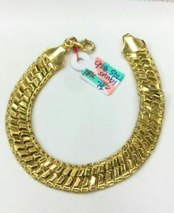 Gold-Authentic-18k-yellow-gold-bracelet-9-3g