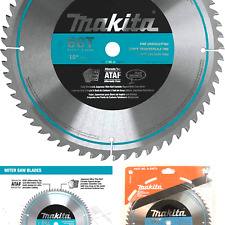 Makita A 93675 10 Inch 60 Tooth Micro Polished Mitersaw Blade Silver