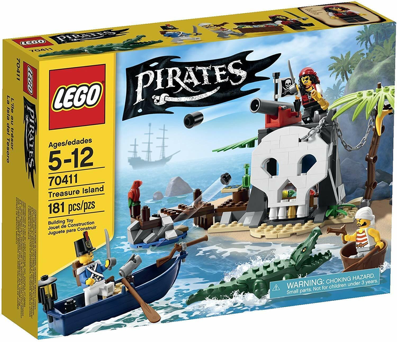 LEGO Pirates 70411 Treasure Island - NEW - SEALED - RETIrot