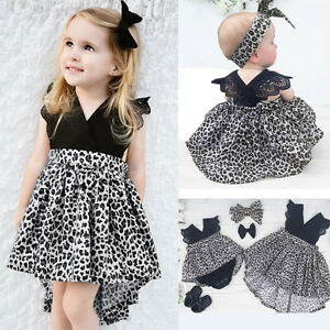 USA-Kids-Baby-Girls-Princess-Pageant-Wedding-Party-Tutu-Lace-Dresses-Outfit-Sets