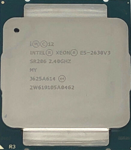 SR206 8 Cores Intel Xeon Processor E5-2630 v3 20M Cache 2.40 GHz