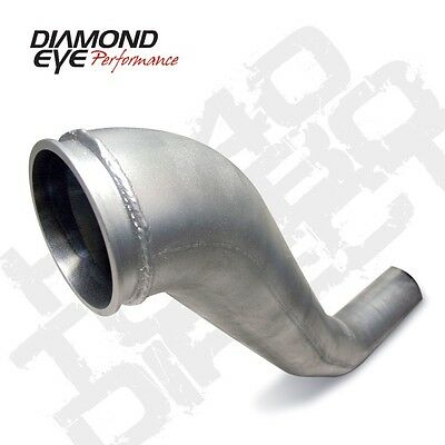 "94-02 Diamond Eye Dodge Diesel 4/"" Down Pipe Exhaust System Aluminized"