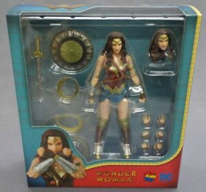 Mafex No.048 Wonder Woman (merveille Ver.) Medicom Toy Japon Nouveau ***