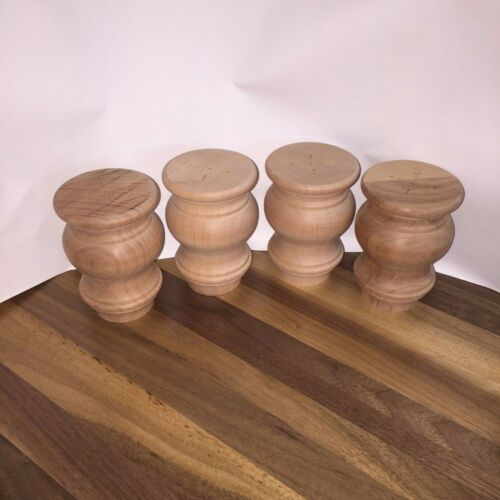 Furniture Legs Red Oak