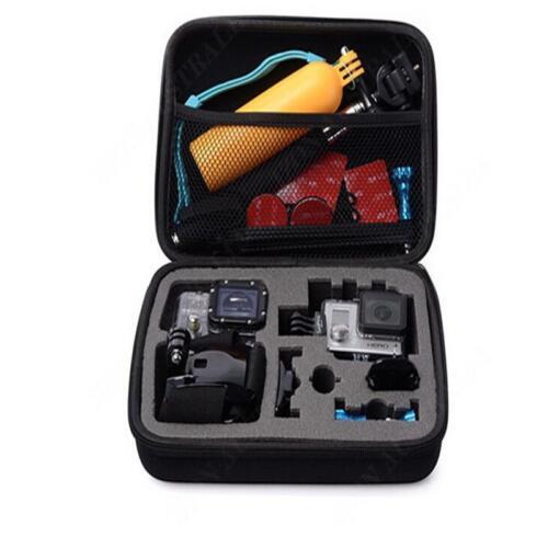 3 2 Camer Pro Medium Travel Storage Carry Hard Bag Case For GoPro Go PRO HERO 3