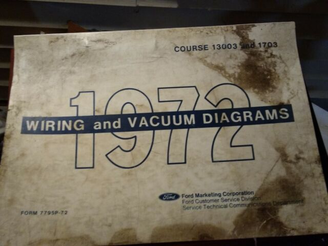 1972 Ford Lincoln Mercury Car Vacuum And Wiring Diagrams