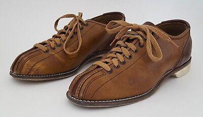 Brunswick Men S Bowling Shoes 8 1 2 Brown Made In Taiwan Ebay