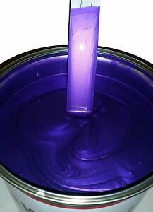Image Is Loading Custom Car Paint Valvet Purple Pearl Fantastic New