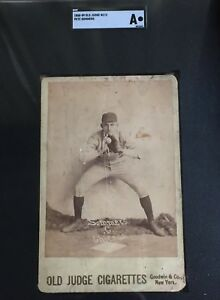 Details About 1888 N173 Old Judge Goodwin Cabinet Baseball Card Pete Sommers Chicago