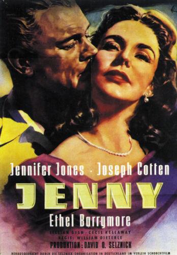 Portrait of Jennie Jennifer Jones movie poster print