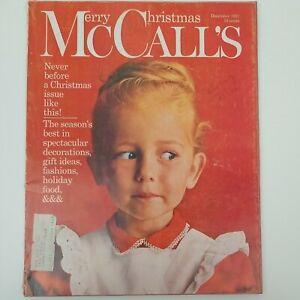 McCall's Magazine Vintage December 1962