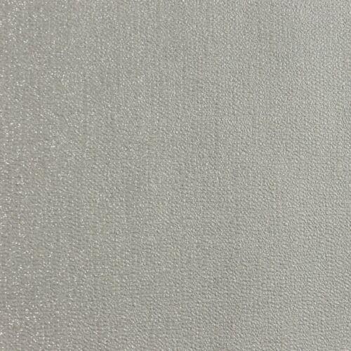 ARTHOUSE GLITTERATI CHEVRON /& PLAIN GLITTER WALLPAPER PLATINUM SILVER WHITE