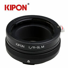 Kipon Adapter with Helicoid Macro Tube for Leica R Mount Lens to Leica SL Camera