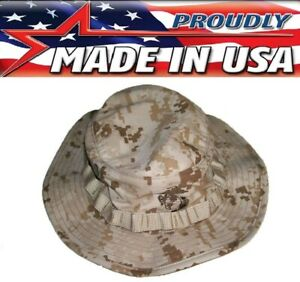 Special Forces Tactical Desert Tiger Stripe Camo Boonie Busch Hat US Made 955