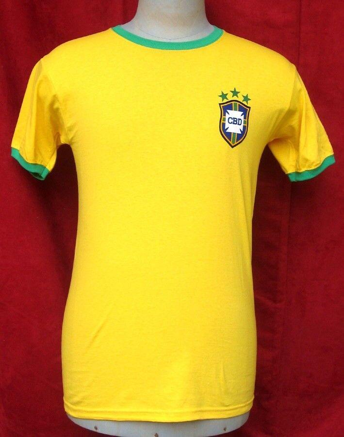 Maillot BRESIL BRAZIL BRASIL 1974 Football soccer shirt camiseta maglia vintage