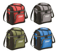 Coleman 9-can Soft Coolers With Hard Liners, 4 Colors