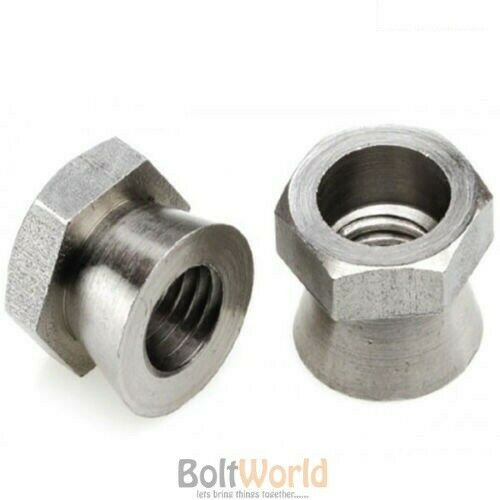 M12 SECURITY SHEAR NUTS ZINC USE WITH SADDLE // T HEAD BOLT M8 M10 M6