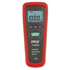 NEW Pyle - PCMM05 - Carbon Monoxide Meter LCD Display Built-in Alarm Sounds
