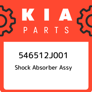 New Genuine OEM Part 546512J001 Kia Shock absorber assy 546512J001