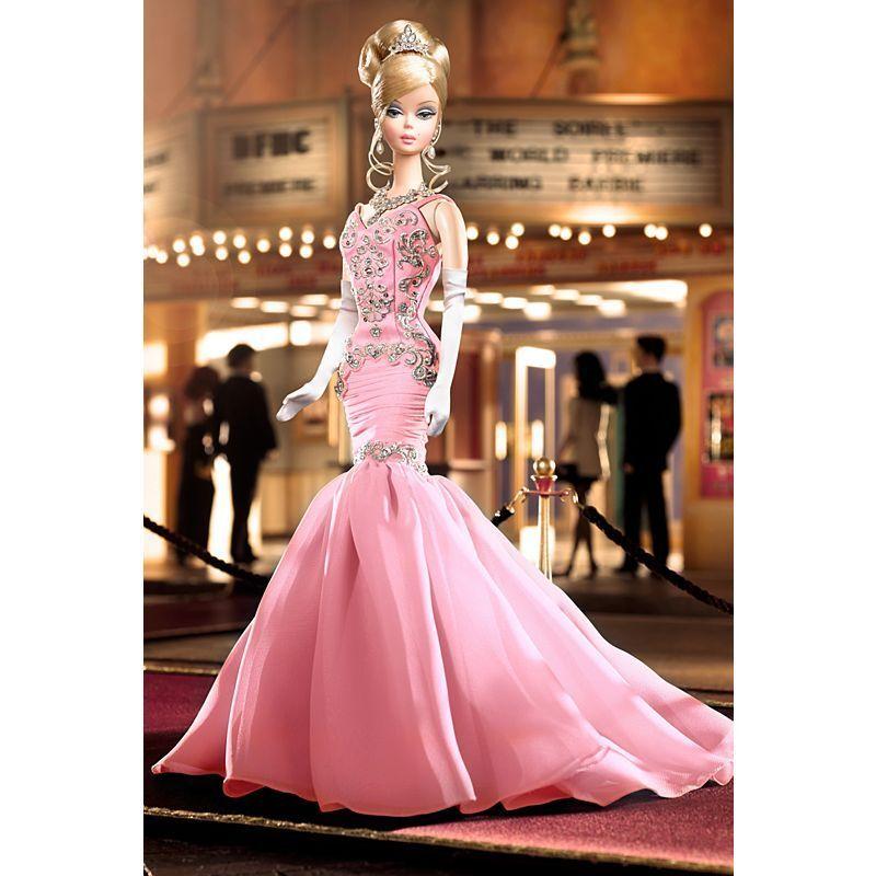 2007 bfmc la velada Silkstone Barbie rosado-nunca quitado de la Caja-Platinum Label-LE999