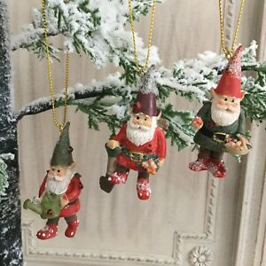 image is loading garden gnome christmas tree decoration fun gisela graham
