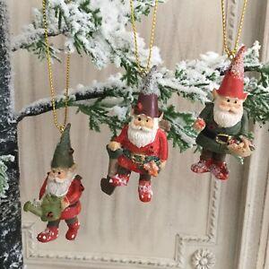 image is loading garden gnome christmas tree decoration fun gisela graham