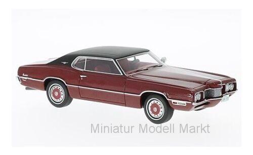 #47045 Neo Ford Thunderbird 2-Door Landau 1970-1:43 dunkelrot//schwarz