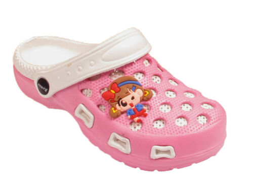 Kids Boys Girls Childrens Garden Clogs Beach Shoes Holiday Casual Summer Sandals
