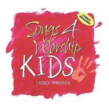 Songs 4 Worship - KIDS - I Sing Praises (CD, 2002) Brand New & Ships FREE!