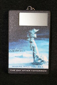 PRE-MOVIE-LIMITED-The-Day-After-Tomorrow-Countdown-Promo-Key-Chain-movie-clock