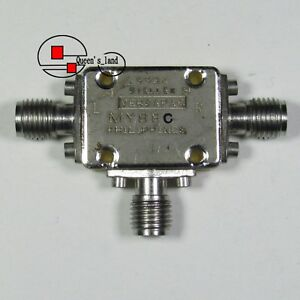 Details about 1× M/A-COM MY88C 2-18GHz SMA RF Microwave WB Triple Balanced  Mixer