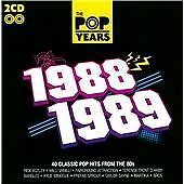 Various-Artists-The-Pop-Years-1988-1989-CD-Incredible-Value-and-Free-Shipping