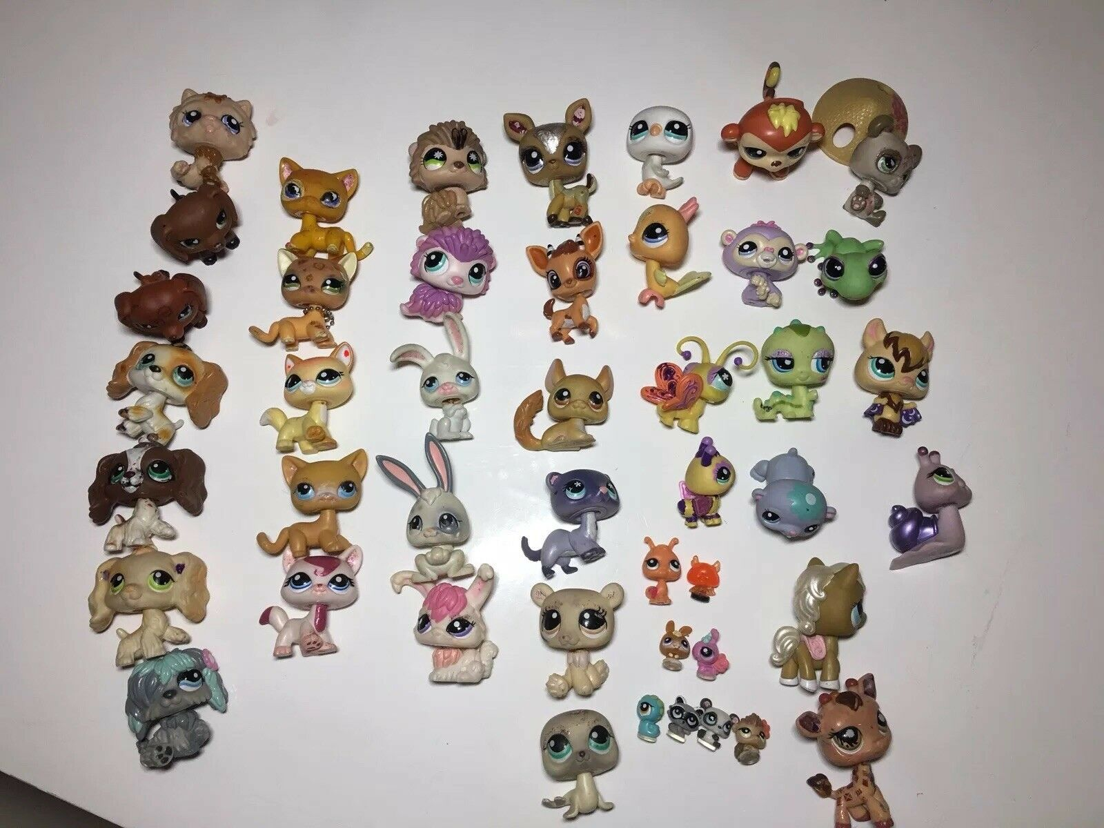 Lot of 45 45 45 Littlest Pet Shops Lps 492929